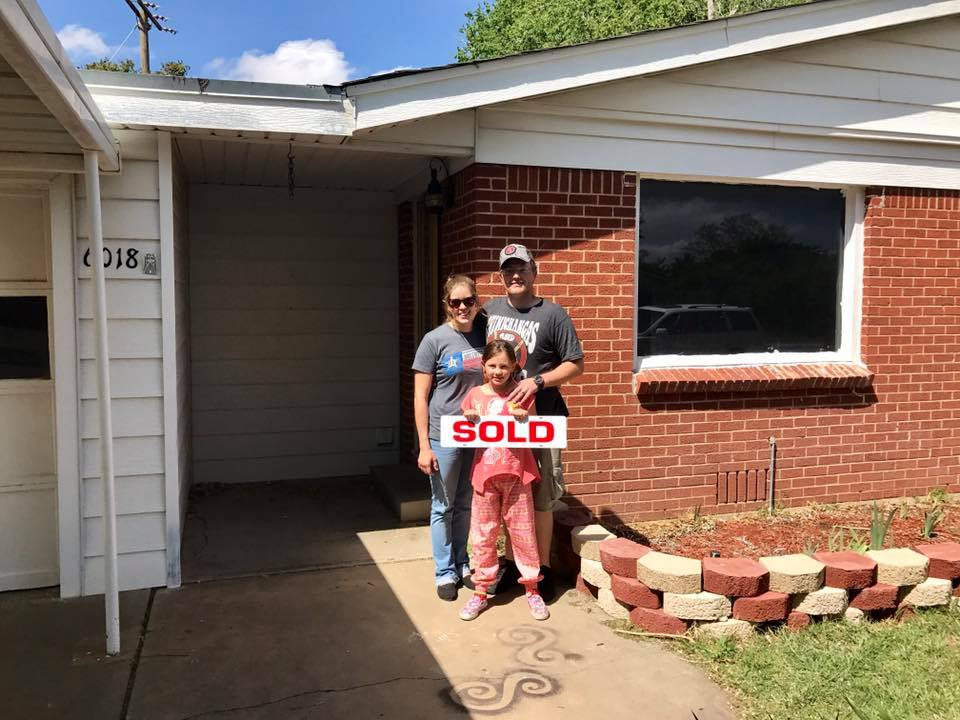 Landon's clients are so excited for their first home!