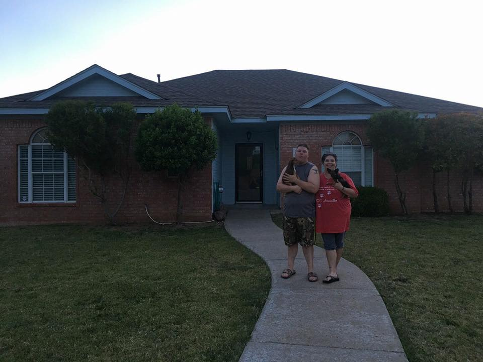 Tiffany's clients are happy to be in their new home!!